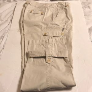 Talbots  established 1947 cream zs 8 pants